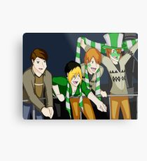 Quidditch World Cup Metal Print