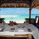 seaside dining by Anne Scantlebury