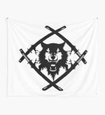 HOLLOW SQUAD | BLACK Wall Tapestry