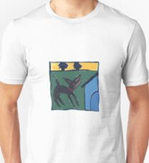 DOG HOUSE ART Unisex T-Shirt