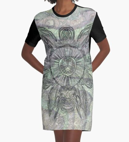 Reef Amoeba 4 Graphic T-Shirt Dress