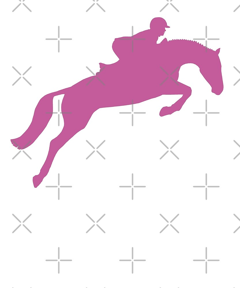 Horse Riding English Equestrian Hunter Jumper by madeulaugh