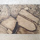 Pyrography by Dani Louise Sharlot