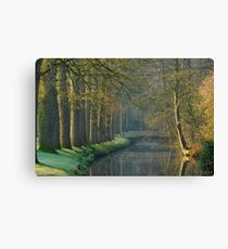 Early April in a Dutch park Canvas Print