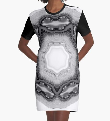 Amoeba 10 Graphic T-Shirt Dress
