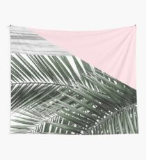 palm rosé Wall Tapestry
