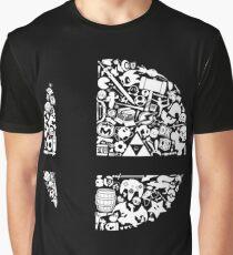 Super Smash Bros. Logo Graphic T-Shirt