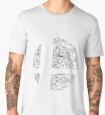 Super Smash Bros. Logo Men's Premium T-Shirt
