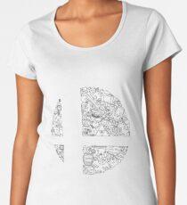 Super Smash Bros. Logo Women's Premium T-Shirt