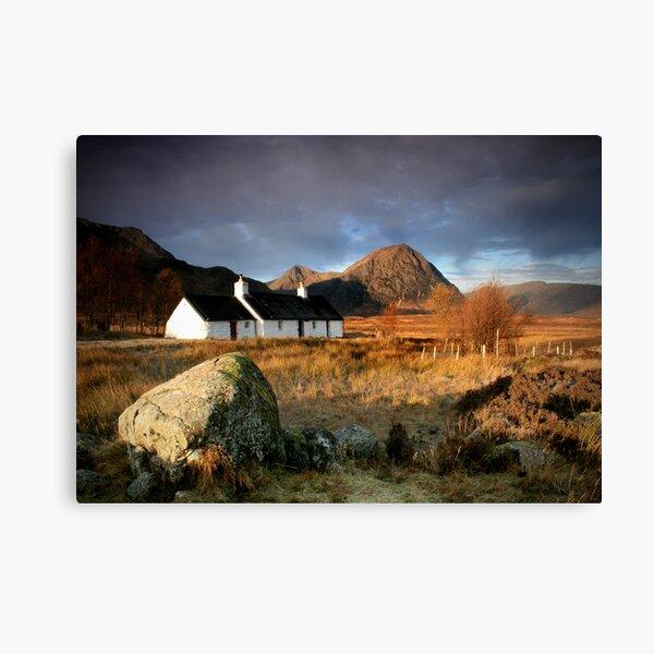 Blackrock Cottage : Glencoe, Highlands Canvas Print