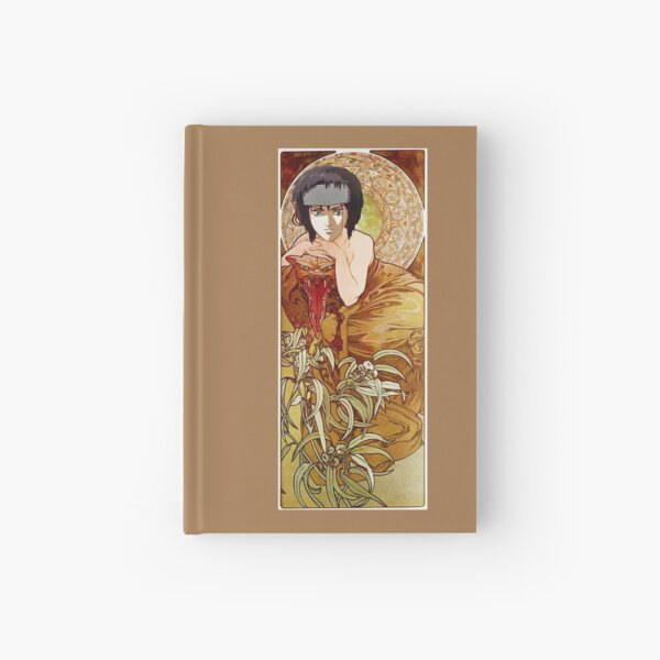 Mucha and Motoko Hardcover Journal