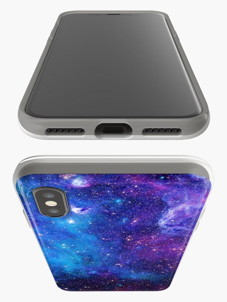 Alternative Ansicht von Hypnotisierende Galaxie iPhone-Hülle & Cover