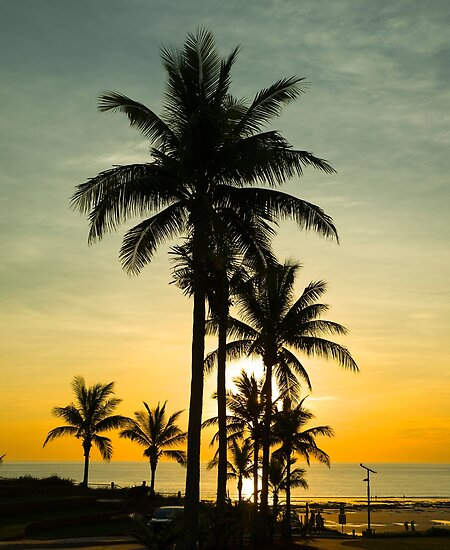 Sunset at Cable Beach by Ian Fegent