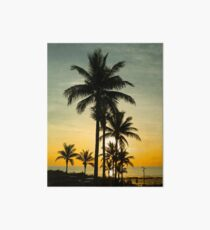 Sunset at Cable Beach Art Board
