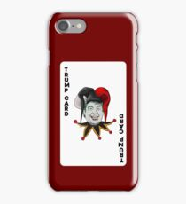 Trump card iPhone Case/Skin