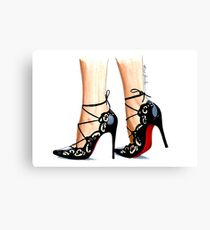Designer shoes Canvas Print