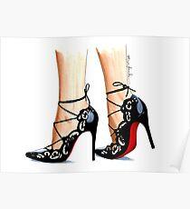 Designer shoes Poster