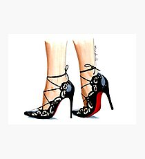 Designer shoes Photographic Print