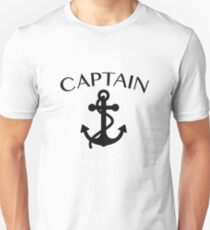 Captain of The Sea Sailing Boating Cruising Unisex T-Shirt