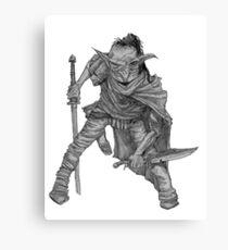 Goblin warrior Canvas Print