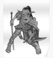 Goblin warrior Poster