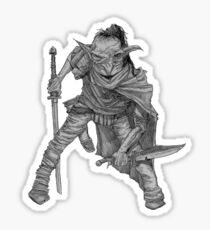 Goblin warrior Sticker
