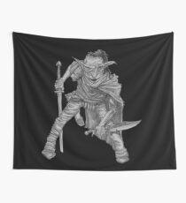 Goblin warrior Wall Tapestry