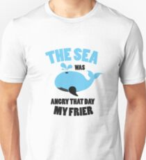 The Sea Was Angry That Day My Friends Funny Unisex T-Shirt