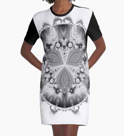 Amoeba 7 Graphic T-Shirt Dress