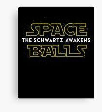 Spaceballs The Schwartz Awakens Canvas Print