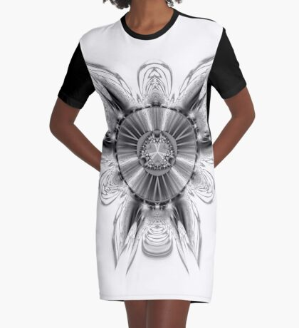 Amoeba 4 Graphic T-Shirt Dress