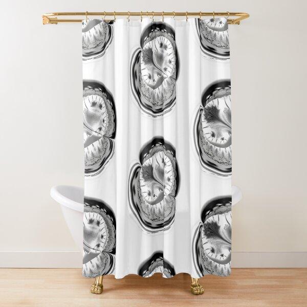 Amoeba 17 Shower Curtain