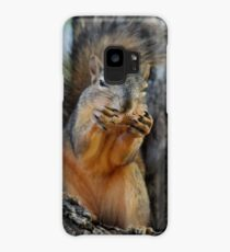 Squirrely Squints Case/Skin for Samsung Galaxy