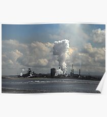 Redcar Iron Works Poster