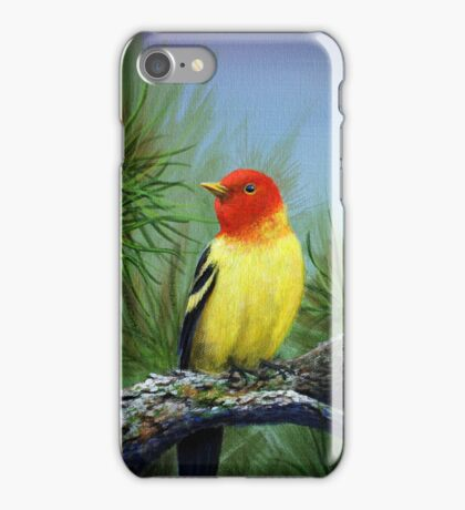 Western Tanager iPhone Case/Skin