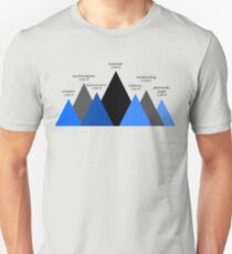 The Seven Mountain Summits T-Shirt