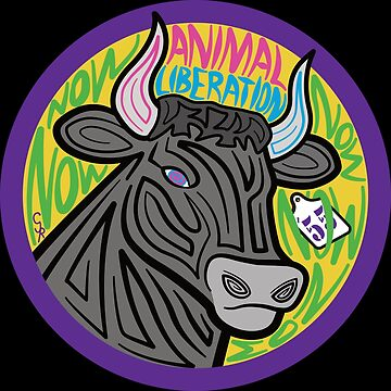 Animal Liberation Now: Bull by TheFruitBat