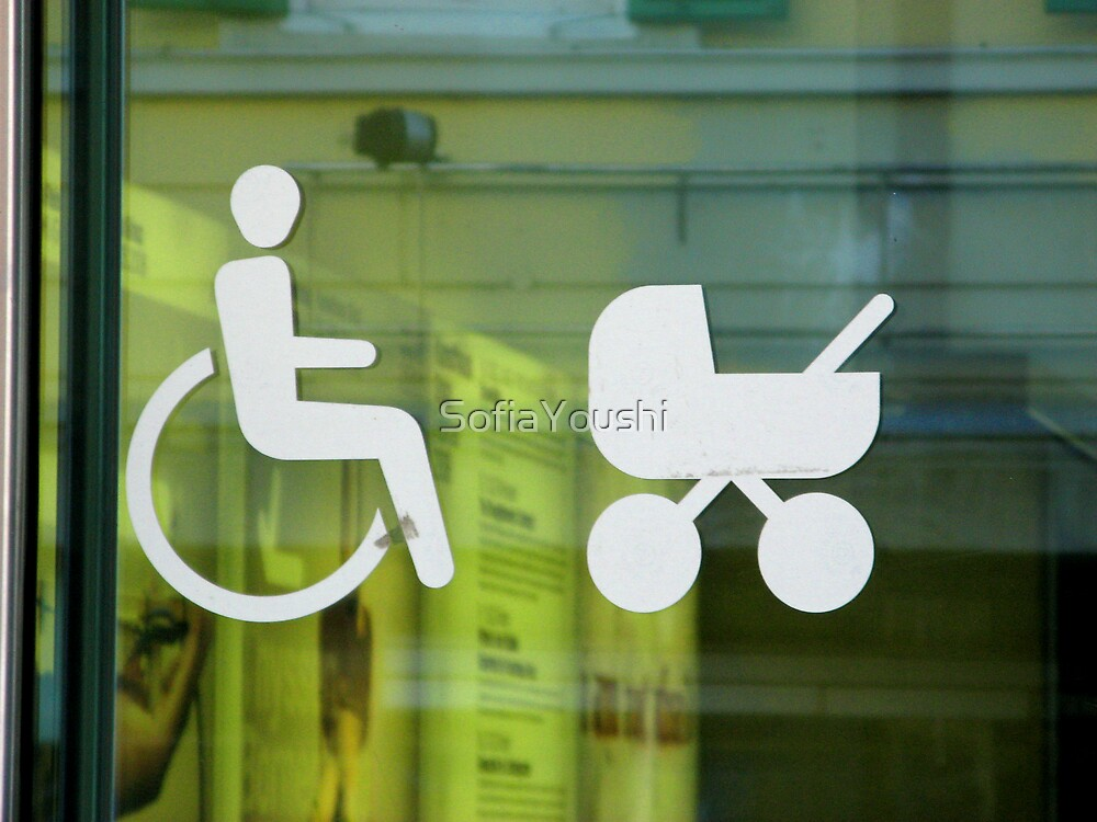 JUST WHEELCHAIRS  AND PRAMS ACCES by SofiaYoushi