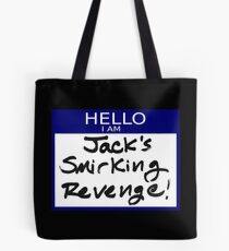 "Fight Club- ""I AM JACK'S SMIRKING REVENGE"" Tote Bag"