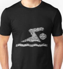 Swimming Words Shirt T-Shirt