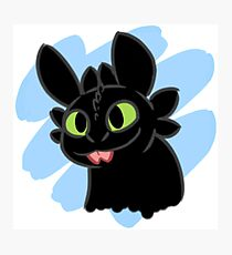 Toothless Bleep Photographic Print