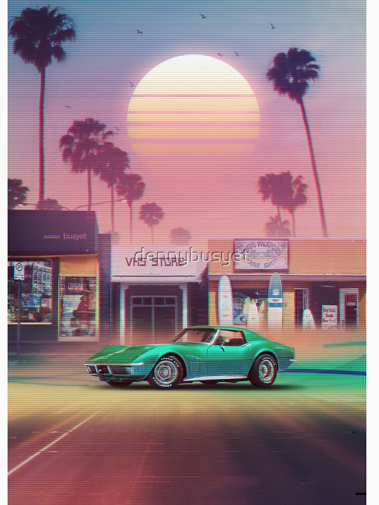Synthwave Sunset Drive de dennybusyet