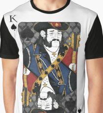 Lemmy - King of Spades - Tribute to Motorhead Graphic T-Shirt