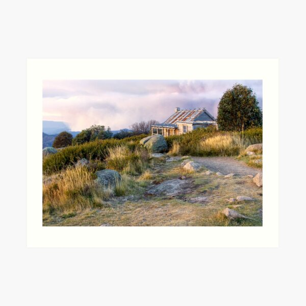 Late Afternoon at Craig's Hut, Victoria Art Print