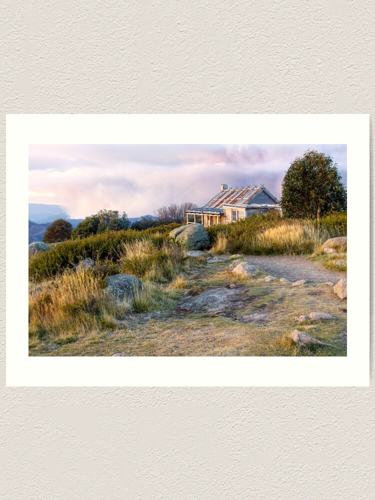 Alternate view of Late Afternoon at Craig's Hut, Victoria Art Print