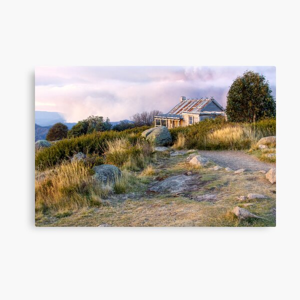 Late Afternoon at Craig's Hut, Victoria Canvas Print
