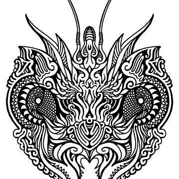 Grasshopper Goddess by GabrielMoon