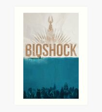 "Bioshock: ""Under the sea"" Art Print"