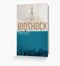 "Bioshock: ""Under the sea"" Greeting Card"