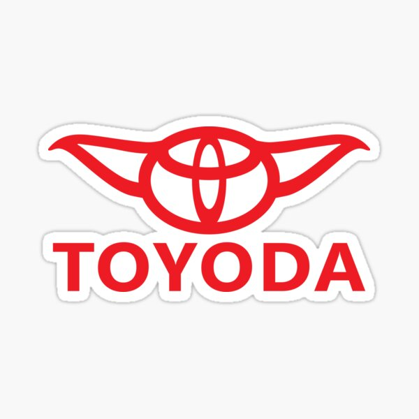 TOYODA Sticker